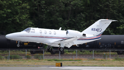 N54CJ - Cessna 525 Citation CJ1 - Private