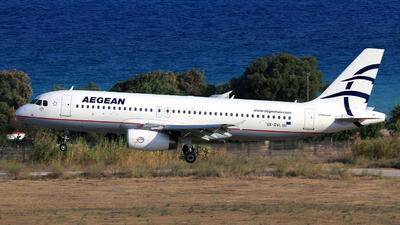A picture of SXDVL - Airbus A320232 - Aegean Airlines - © Helmut Schnichels
