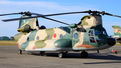 47-4490 - Kawasaki CH-47J Chinook - Japan - Air Self Defence Force (JASDF)
