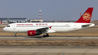 A picture of B6670 - Airbus A320214 - Juneyao Airlines - © Jiaming