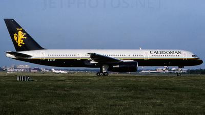 G-BPEF - Boeing 757-236 - Caledonian Airways