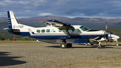 A picture of CFSKF - Cessna 208B Grand Caravan - Alkan Air - © C. v. Grinsven