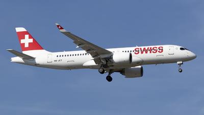 A picture of HBJCT - Airbus A220300 - Swiss - © RAFAL KUKOWSKI
