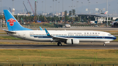 A picture of B5741 - Boeing 73781B - China Southern Airlines - © Lywings