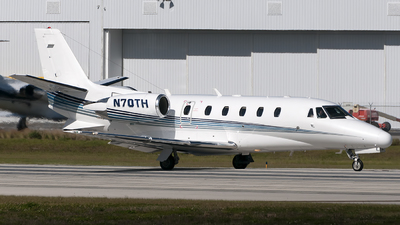 N70TH - Cessna 560XL Citation Excel - Private