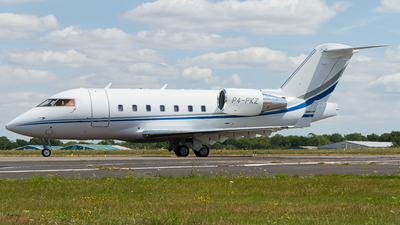 A picture of P4PKZ - Bombardier Challenger 604 -  - © Tim Lowe