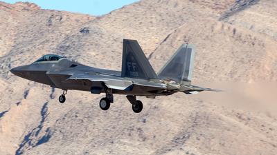 08-4159 - Lockheed Martin F-22A Raptor - United States - US Air Force (USAF)