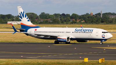 TC-SOB - Boeing 737-8HC - SunExpress