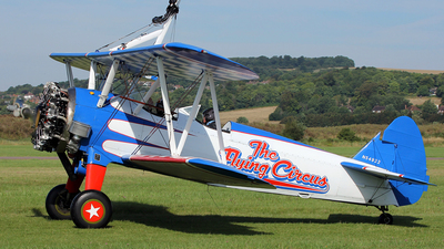 N54922 - Boeing A75N1 Stearman - The Flying Circus