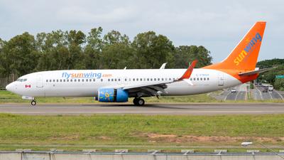 C-FWGH - Boeing 737-86J - Sunwing Airlines