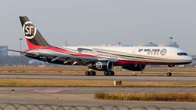 A picture of B1463 - Boeing 7572Z0(PCF) - SF Airlines - © H.C.