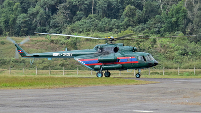 RDPL-34087 - Mil Mi-17V5 Hip H - Laos - Air Force