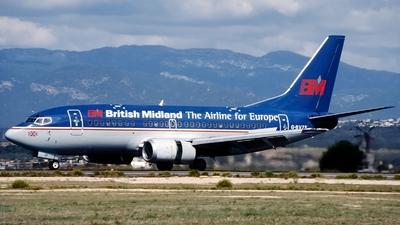G-BVZE - Boeing 737-59D - bmi British Midland International