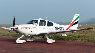 A picture of A6CTK - Cirrus SR22 - [4575] - © Michele Barban