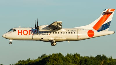 F-GVZC - ATR 42-500 - HOP! for Air France