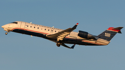 N459AW - Bombardier CRJ-200ER - US Airways Express (Air Wisconsin)