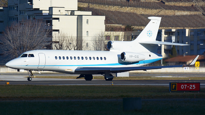 A picture of VPCIG - Dassault Falcon 7X -  - © jeremy denton