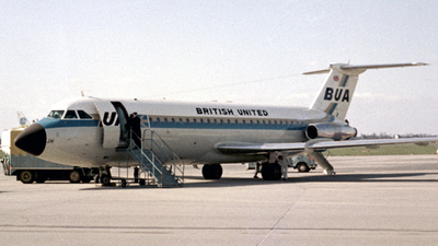 G-ASJH - British Aircraft Corporation BAC 1-11 Series 201AC - British United Airways (BUA)