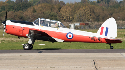 G-BZGA - De Havilland Canada DHC-1 Chipmunk 22 - Private