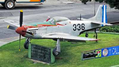 336 - North American P-51D Mustang - Guatemala - Air Force
