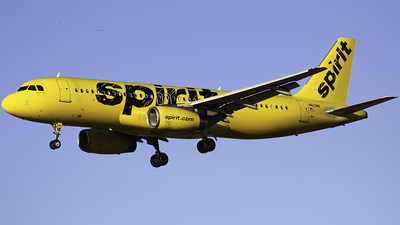 A picture of N613NK - Airbus A320232 - Spirit Airlines - © Zachary Bogart