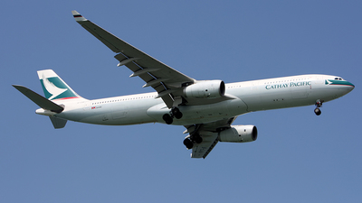 B-LAA - Airbus A330-342 - Cathay Pacific Airways