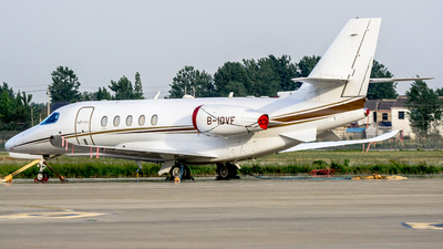B-10VF - Cessna 680 Citation Sovereign - Private