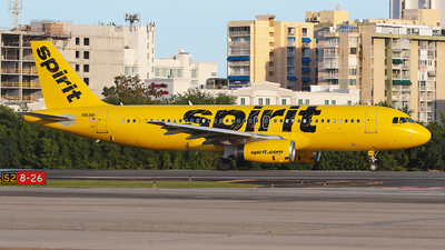 A picture of N613NK - Airbus A320232 - Spirit Airlines - © Angel Natal