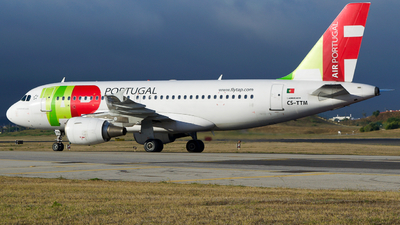 CS-TTM - Airbus A319-111 - TAP Air Portugal