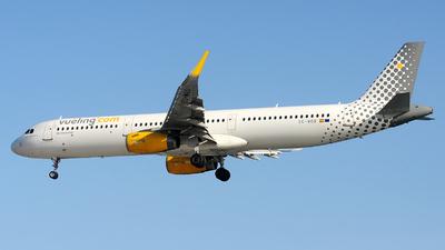 EC-MOO - Airbus A321-231 - Vueling