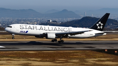 JA614A - Boeing 767-381(ER) - All Nippon Airways (ANA)