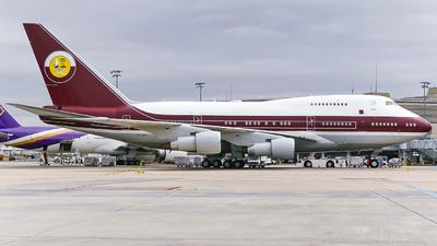 VP-BAT - Boeing 747SP-21 - Qatar - Amiri Flight