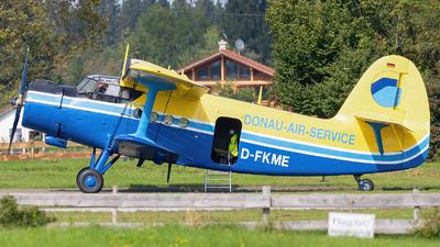 D-FKME - Antonov An-2T - Donau-Air-Service
