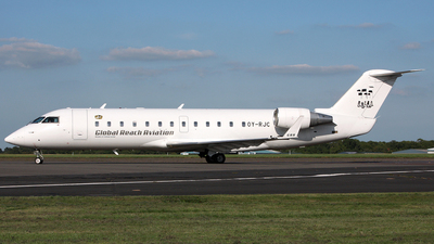 OY-RJC - Bombardier CRJ-200LR - Global Reach Aviation