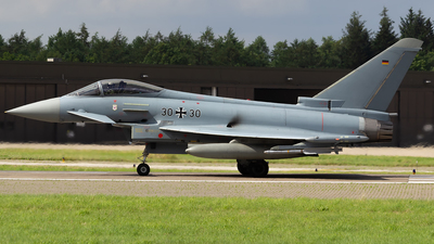 30-30 - Eurofighter Typhoon EF2000 - Germany - Air Force