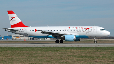OE-LBW - Airbus A320-214 - Austrian Airlines (Tyrolean Airways)