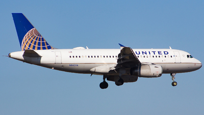 A picture of N842UA - Airbus A319131 - United Airlines - © Xiamen Air 849