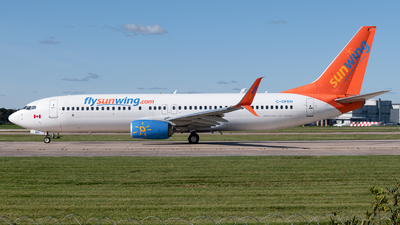 C-GFEH - Boeing 737-8GS - Sunwing Airlines
