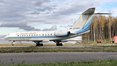 RA-65919 - Tupolev Tu-134 - Russia - Fire Fighters Training