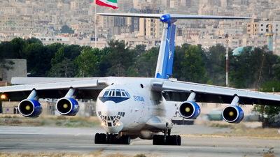 YK-ATA - Ilyushin IL-76T - Syrianair - Syrian Arab Airlines