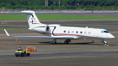 A picture of N371JC - Gulfstream G550 - [5304] - © ERIC-CHEN