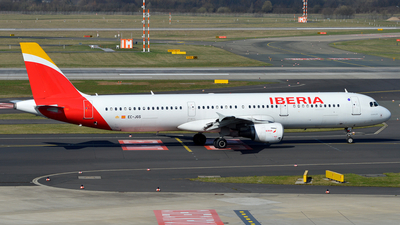 EC-JGS - Airbus A321-211 - Iberia