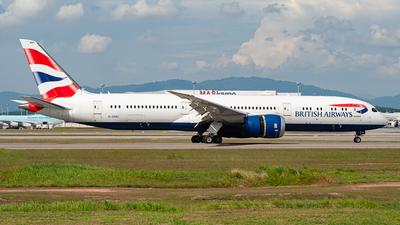 A picture of GZBKI - Boeing 7879 Dreamliner - British Airways - © syafiqkuzairy