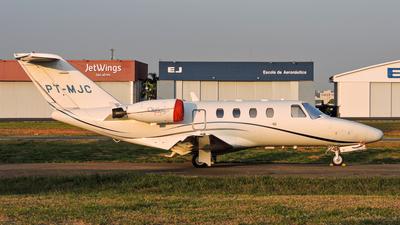 PT-MJC - Cessna 525 CitationJet 1 - Private