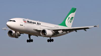 EP-MNX - Airbus A310-304 - Mahan Air