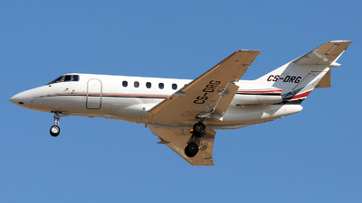 CS-DRG - Raytheon Hawker 800XP - NetJets Europe