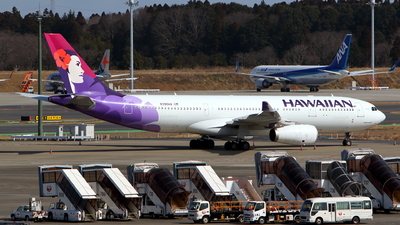A picture of N390HA - Airbus A330243 - Hawaiian Airlines - © kouyagi