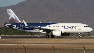 CC-BFJ - Airbus A320-214 - LAN Airlines