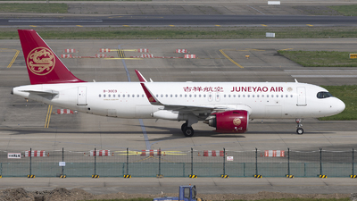 B-30C9 - Airbus A320-271N - Juneyao Airlines