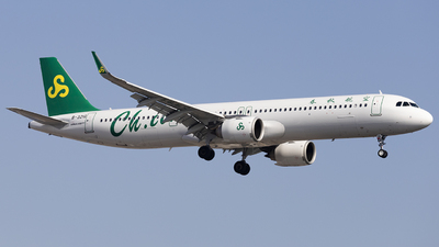A picture of B321G - Airbus A321253NX - Spring Airlines - © Lixing Moo